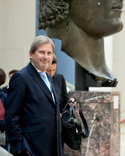 Participation of Johannes Hahn at the meeting of the mayors of the EU's 28 capital cities