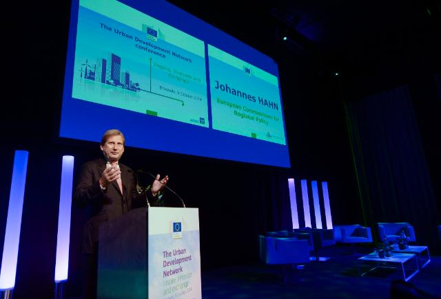 Participation of Johannes Hahn, Member of the EC, at the conference on the new Urban Development Network
