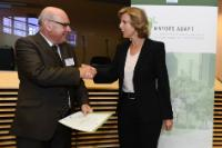 """Illustration of """"Signing ceremony of the 'Mayors Adapt' initiative of the 'Covenant of Mayors'"""""""