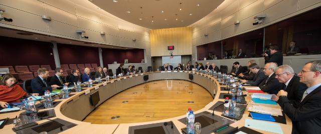 Première réunion de l'Équipe de projet 'L'Europe dans le monde'