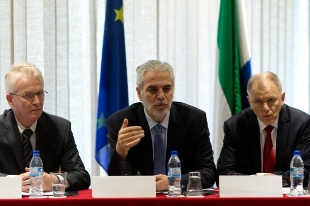 Visit of Vytenis Andriukaitis and Christos Stylianides, Members of the EC, to Sierra Leone, Liberia and Guinea