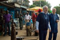 """Illustration of """"Visit of Vytenis Andriukaitis and Christos Stylianides, Members of the EC, to Sierra Leone, Liberia and..."""
