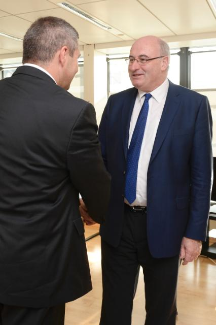 Visit of Dejan Židan, Slovenian Deputy Prime Minister; Slovenian Minister for Agriculture and the Environment, to the EC