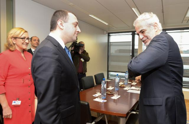 Visit of Irakli Garibashvili, Georgian Prime Minister, to the EC