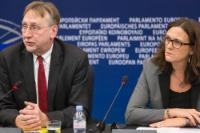"""Illustration of """"Participation of Jean-Claude Juncker, President of the EC, in the EP plenary session"""""""