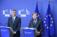 Visit of Hashim Thaçi, Kosovan First Deputy Prime Minister and Minister for Foreign Affairs, to the EC