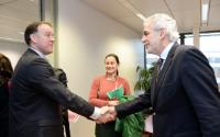 Visit of Mike Penrose, Executive Director of Action Against Hunger - France, to the EC