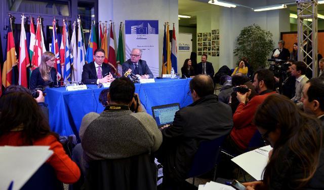 Visite de Jyrki Katainen, vice-président de la CE, en Italie