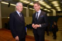 "Illustration of ""Visit of Jyrki Katainen, Vice-President of the EC, to Italy"""