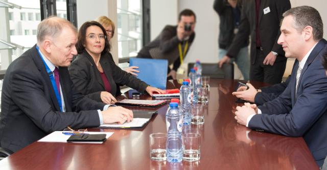 Visit of Nikola Todorov, Minister for Health of the former Yugoslav Republic of Macedonia, to the EC
