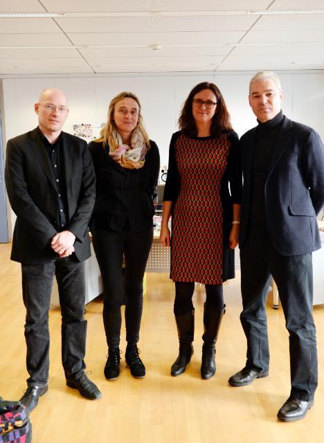 Visite à la CE des représentants de l'initiative citoyenne européenne STOP TTIP