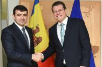 "Illustration of ""Visit of Chiril Gaburici, Moldovan Prime Minister, to the EC"""