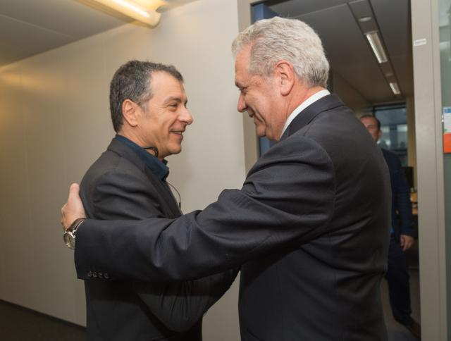 Visit of Stavros Theodorakis, Founder and Leader of 'To Potami' Party, to the EC