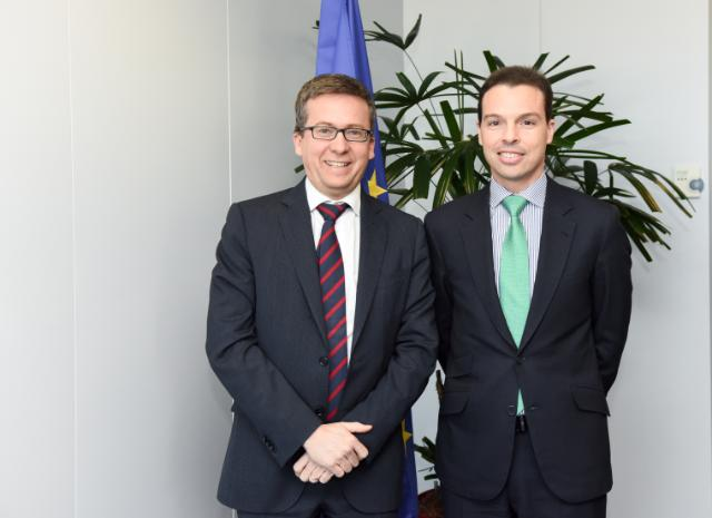 Visit of Stephan Morais, Chairman of the steering committee of the EVFIN, to the EC