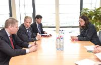 Visit of Reinhold Mitterlehner, Austrian Federal Vice-Chancellor; Federal Minister for Science, Research and Economy, and Andrä Rupprechter, Austrian Federal Minister for Agriculture, Forestry, Environment and Water Management, to the EC
