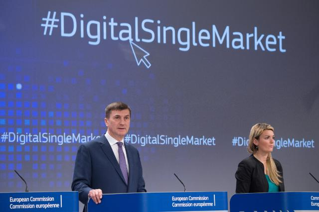 Press conference by Andrus Ansip, Vice-President of the EC, on the conclusions of the weekly meeting of the Juncker Commission
