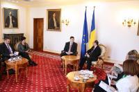 Visite de Valdis Dombrovskis, vice-président de la CE, en Roumanie