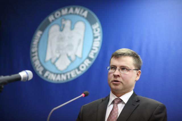 Visit of Valdis Dombrovskis, Vice-President of the EC, to Romania
