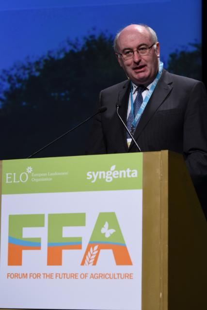 Participation de Phil Hogan et Karmenu Vella au 8e Forum pour l'avenir de l'agriculture