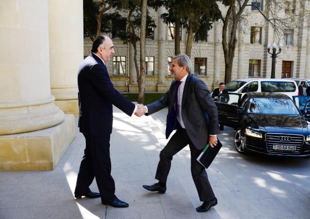 Visit of Johannes Hahn, Member of the EC, to Azerbaijan