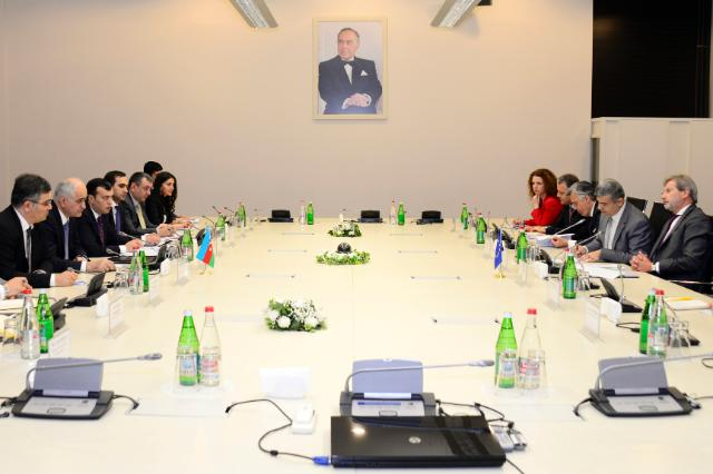 Visit of Johannes Hahn, Member of the EC, to Azerbaijan