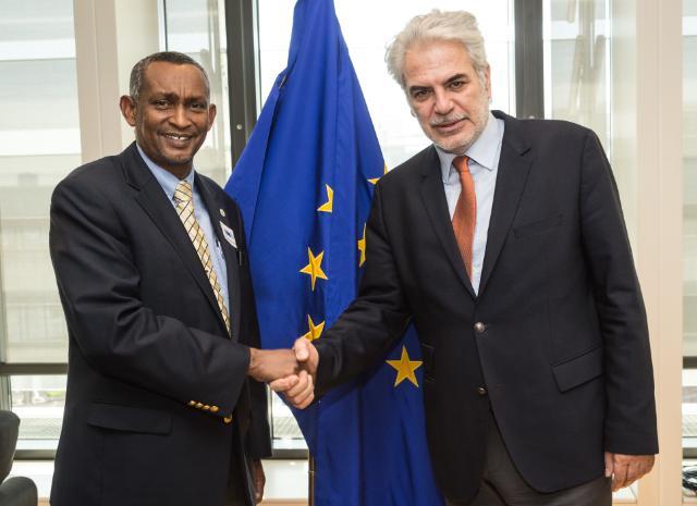 Visite de Mahboub M. Maalim, secrétaire exécutif de l'IGAD, à la CE