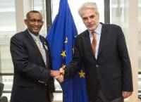 Visit of Mahboub M. Maalim, Executive Secretary of IGAD, to the EC