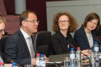 Visit of the representatives from youth organisations to the EC