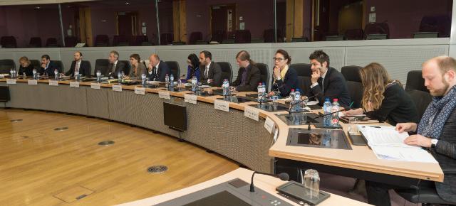 Visite de représentants d'organisations de jeunesse à la CE