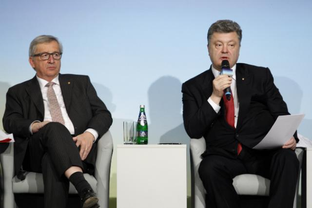 """Illustration of """"Participation of Valdis Dombrovskis and Johannes Hahn at the International Support for Ukraine Conference"""""""