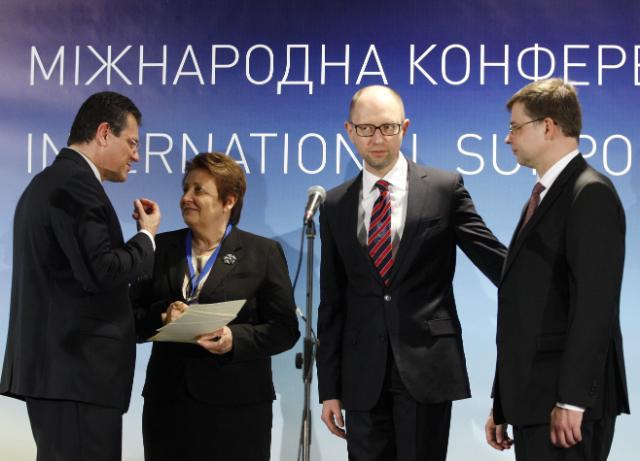 Conférence internationale de soutien à l'Ukraine, 28/04/2015