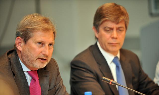 Visite de Johannes Hahn, membre de la CE, en Bosnie-Herzégovine