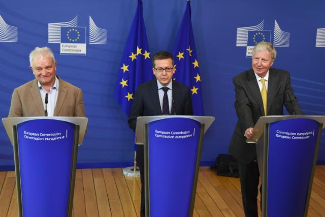 Visit of several Nobel Prize® Laureates to the EC