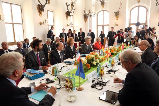 Réunion des ministres de l'Intérieur des pays du G6, Moritzburg, 01-02/06/2015