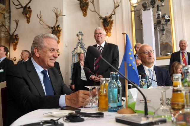 Meeting of the Ministers for the Interior of the G6 countries, Moritzburg, 01-02/06/2015