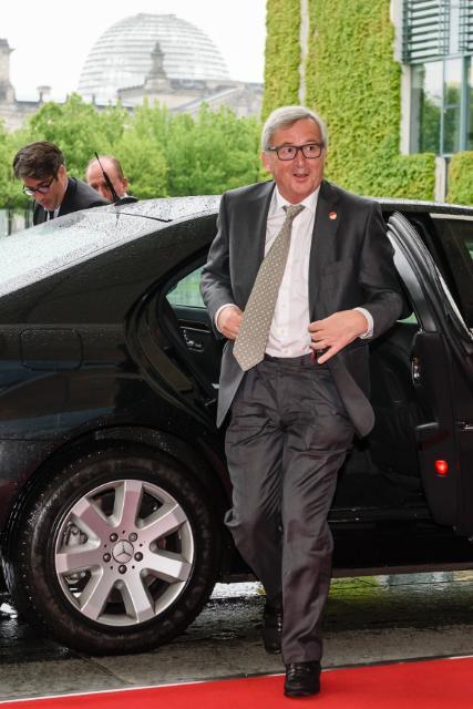 "Illustration of ""Visit by Jean-Claude Juncker to Berlin"""