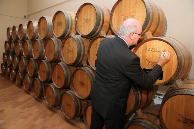 Visite de Phil Hogan, membre de la CE, en Espagne