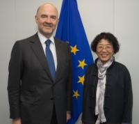 Visit of Yang Yanyi, Head of the Mission of China to the EU, to the EC