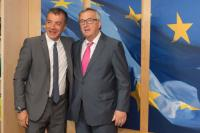 Visit of Stavros Theodorakis, Founder and Leader of the Greek political party 'To Potami', to the EC
