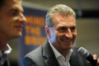 Visit by Günther Oettinger, Member of the EC, to the United States