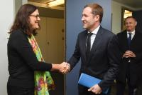 Visit of Paul Magnette, Minister-President of the Walloon Government, to the EC
