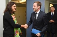 Visite de Paul Magnette, ministre-président du Gouvernement wallon, à la CE