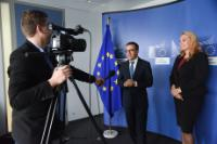 Visit of Sanja Vlahovic, Montenegrin Minister for Science, to the EC