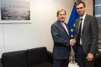 Visit of Markus Wallner, Governor of Vorarlberg, to the EC