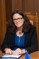 Cecilia Malmström, membre de la CE chargée du Commerce - Suède
