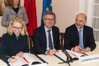 Signature Ceremony Agreement between the European Community and the Principality of Liechtenstein, on taxation