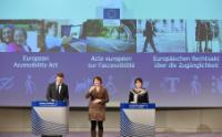 Press conference by Marianne Thyssen, Member of the EC, on the European Accessibility Act