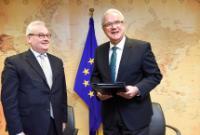 Cérémonie de signature du premier projet pour le Fonds régional d'affectation spéciale de l'UE pour l'Afrique