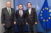 Visit of  Tomas Hedenborg, President of Orgalime, and Adrian Harris, Director General of Orgalime, to the EC