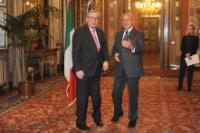 Visit of Jean-Claude Juncker, President of the EC, to Italy